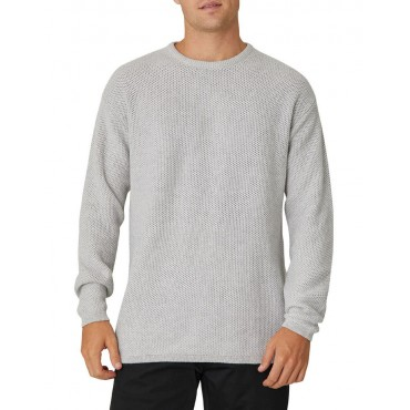 Industrie Mens The Culver Knit Light Marle Grey 2021 Trends XTZDFFC -
