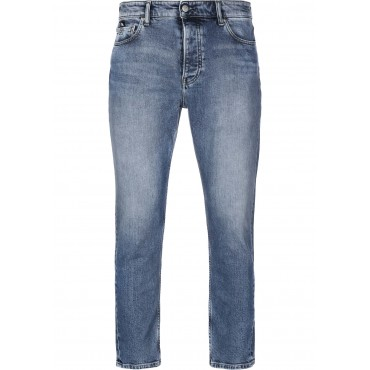 Calvin Klein Jeans&nbspDad Men Straight Jeans blue New Arrival zip fly with button NFQP680