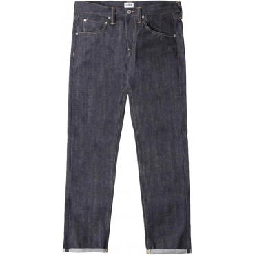 Edwin&nbspED-55 Regular Tapered Red Listed Selvage Men Straight Jeans blue unwashed Trending button fly PDVQ690